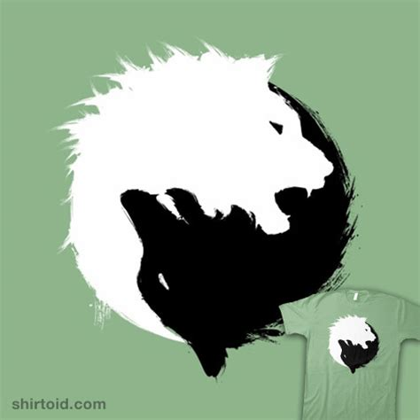 the wolf and the lion shirtoid
