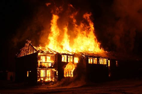 house on fire fire damage prevention safe home jenkins restorations