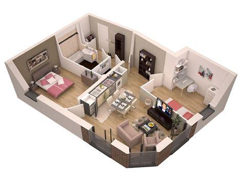 plan de maison 2 chambres plan de maison simple