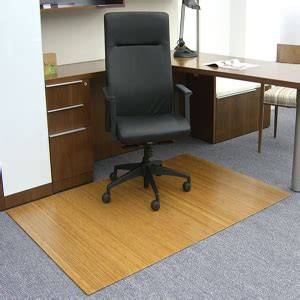 Bamboo Desk Chair Mat by Bamboo Chair Mats Are Foldable Desk Chair Mats American