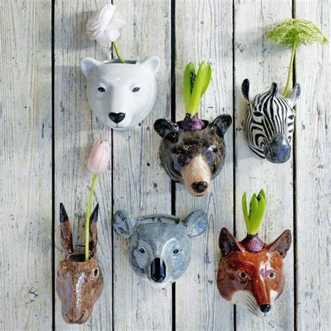 animal planters 22 whimsical planters inspired by wildlife