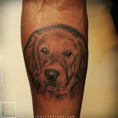 golden retriever tattoo the 20 coolest golden retriever designs in the world