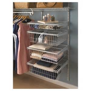 closetmaid shelftrack 4 drawer kit white