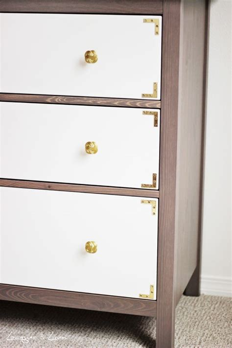 hemnes hack ikea hemnes dresser upgraded inspiring diy pinterest