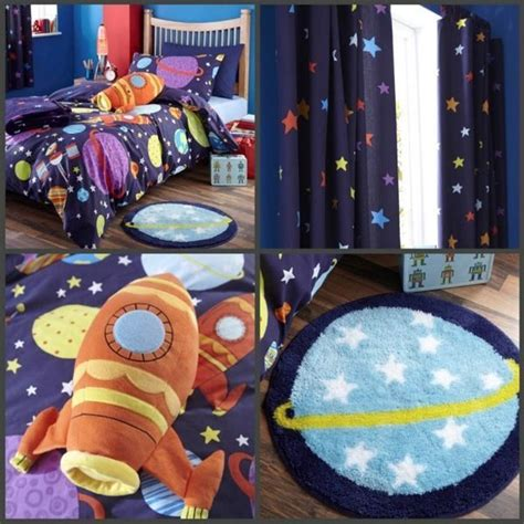 boys space curtains outer space boys bedding single duvet cover curtains rug
