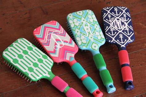cute pattern brush the cute kiwi colorful personalized hair brush with