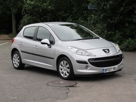 peugeot silver used peugeot 207 2007 petrol silver manual for sale in