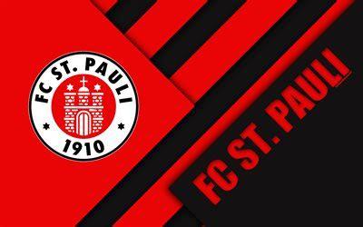 wallpapers fc st pauli logo  german football