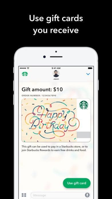 Starbucks Gift Card Denominations - starbucks imessage app lets you send digital gift cards with apple pay