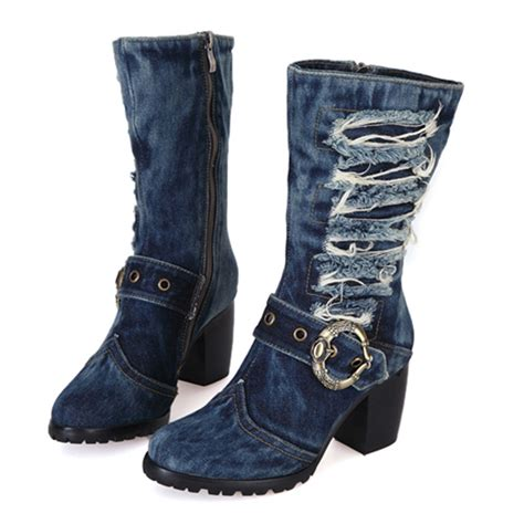 popular blue boots buy cheap blue boots lots