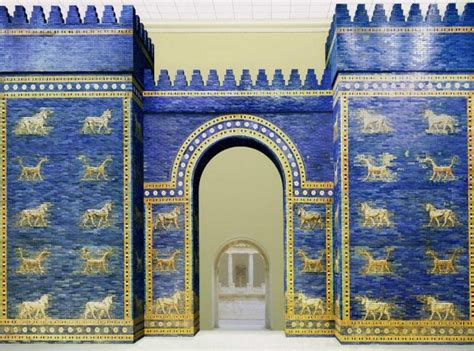 le porte di babilonia porta storia wikitecnica