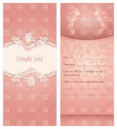 Download Invitation Card Template Invitation Or Greeting Card Pink Template 18845 Borders
