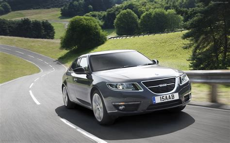 all new saab 9 5 saloon widescreen car picture 01