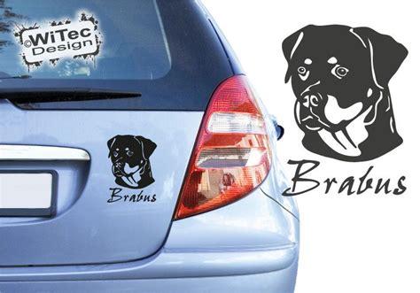Hundeaufkleber Auto by Hundeaufkleber Rottweiler Autoaufkleber Hunde