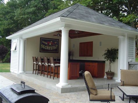 pool house plans with bathroom and kitchen