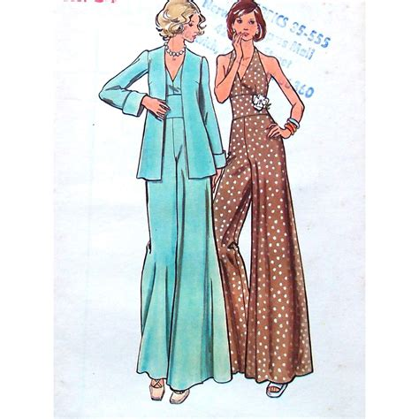 jumpsuit pattern butterick butterick sewing pattern misses evening jumpsuit with