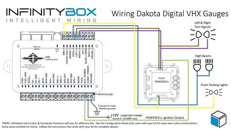 dakota digital wiring diagram dakota digital dash wiring