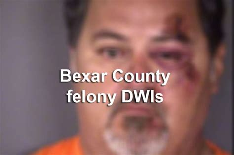Dwi Records Records 47 Arrested On Felony Dwi Charges In Bexar County In September 2016