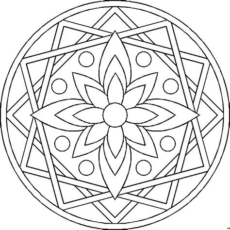 mandala coloring pages a4 mandala 15 canada arts connect