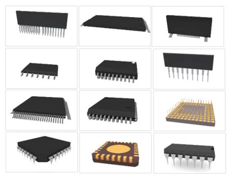 integrated circuit packaging images
