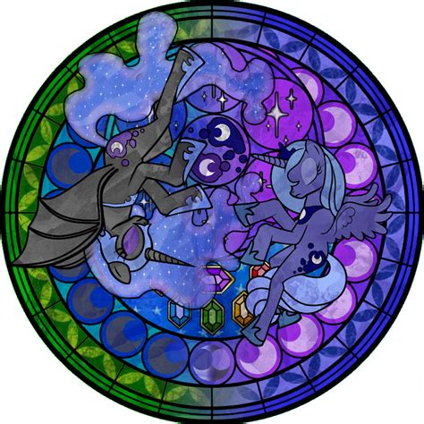 mlp nightmare moon stained glass my little pony friendship is magic images nightmare moon