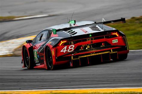 Lamborghini Daytona Paul Miller Racing Places As Top Lamborghini In Rolex 24