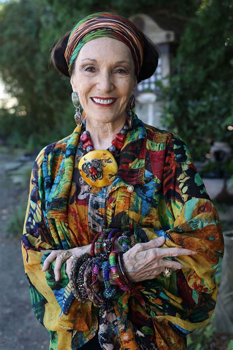 bohemian look on older women 15 stylish seniors that prove age is just a number