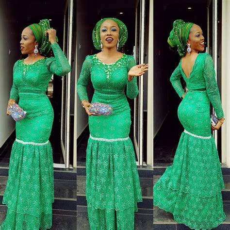 aso ebi lace styles images yomi shabi asoebi look in a million styles4 african