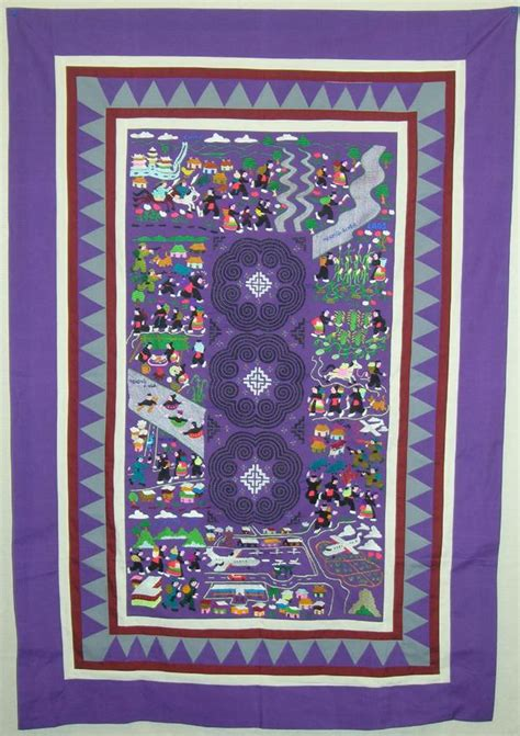 Hmong Quilts quilts that communicate politics and history hmong and
