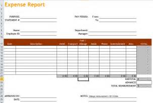 microsoft word expense report template 4 expense report templates excel pdf formats