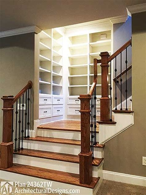 How To Build Interior Stairs With A Landing by 17 Best Ideas About Walkout Basement On