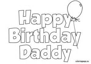 happy birthday dad coloring pages 24648 bestofcoloring com