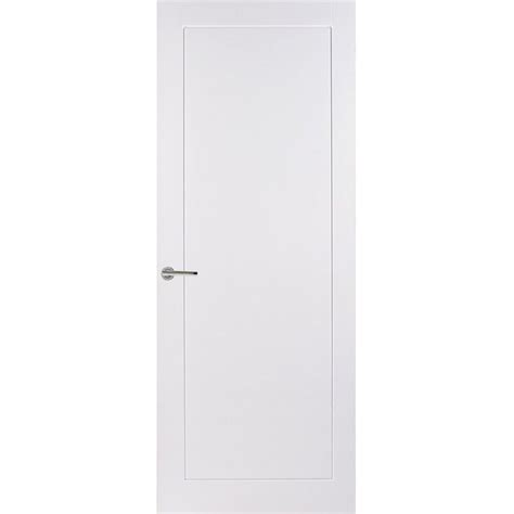 Sliding Door Panel Curtains Premdor Internal White Primed 1 Panel Moulded Smooth Door