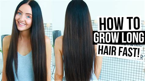 10 ways to grow long hair fast how to really grow long hair fast naturally easy tips