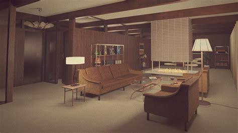 60er wohnzimmer 1960s living room by erkucrunk on deviantart