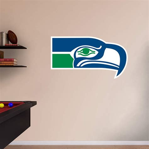 Seahawks Decor by Seattle Seahawks Classic Logo Wall Decal Shop Fathead