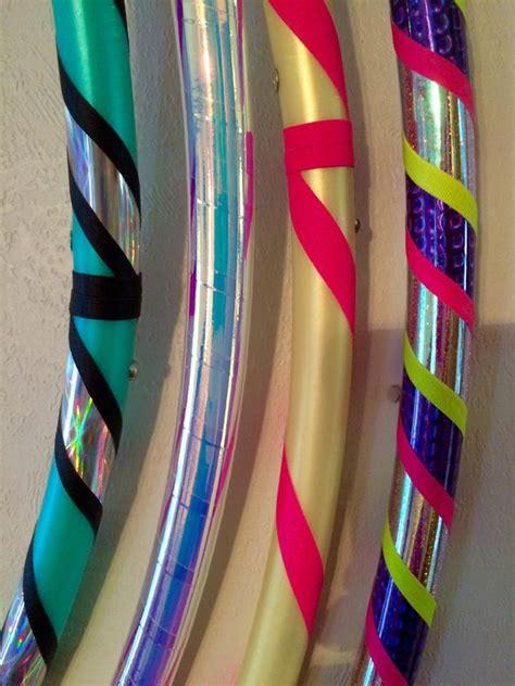 Handmade Hula Hoops - custom hula hoop ruby hooping