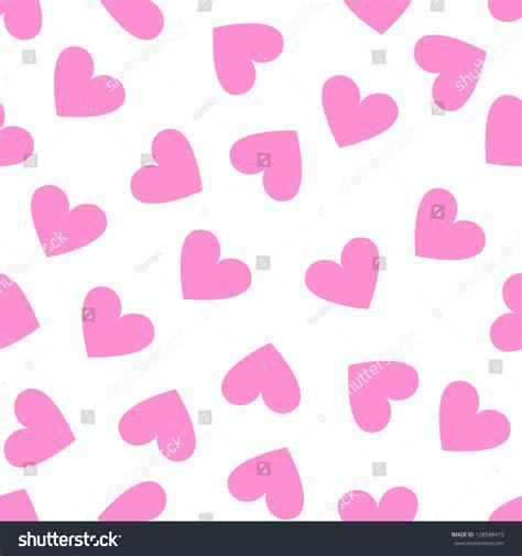 pink pattern show seamless vintage random pink heart pattern stock vector
