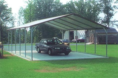 Steel Frame Carport Kits Diy Metal Carport Kits For The Home Metals