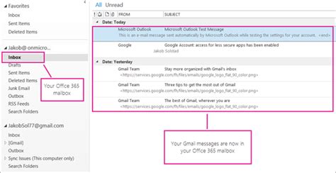 Office 365 Outlook As Read Import Gmail To Outlook Office Support