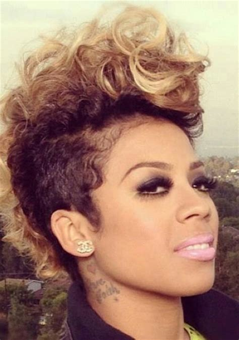 keyshia cole mohawk hairstyles 25 short cuts for black women short hairstyles 2016