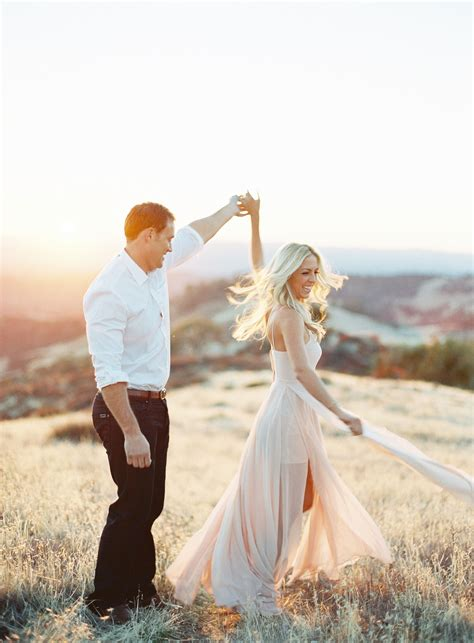 Engagement Photography by California Wine Country Engagement Shoot Country