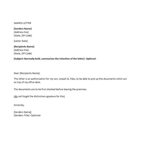 consent letter format for use of premises 46 authorization letter sles templates template lab