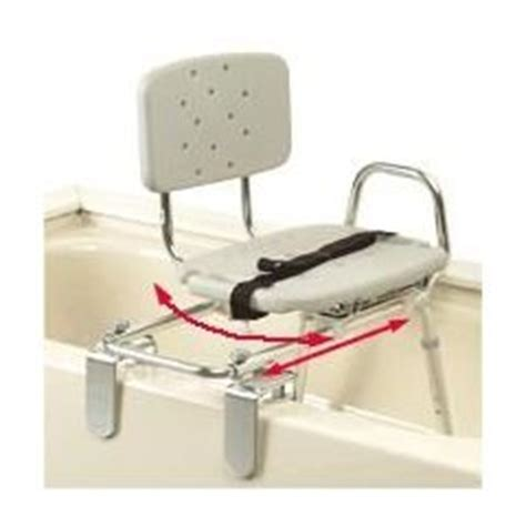tub transfer bench with sliding seat buy snap n save sliding tub mount transfer bench with