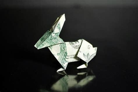Dollar Bill Origami Rabbit - 336 best folding money images on folding money