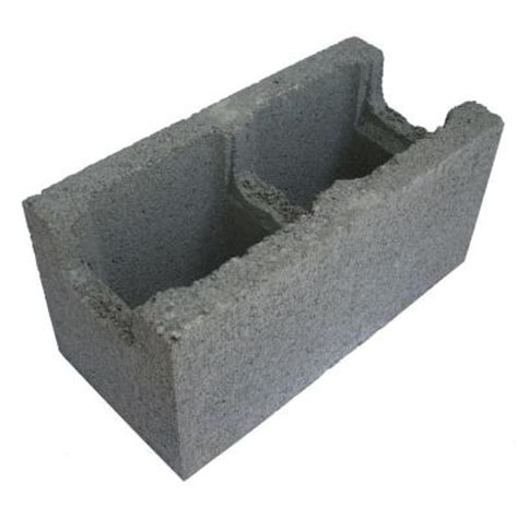 8 in x 8 in x 16 in gray concrete block 100012157 the