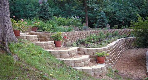 keystone garden wall retaining wall blocks rcp block brick