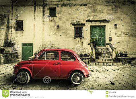old vintage images vieille sc 232 ne d italien de vintage petite voiture rouge