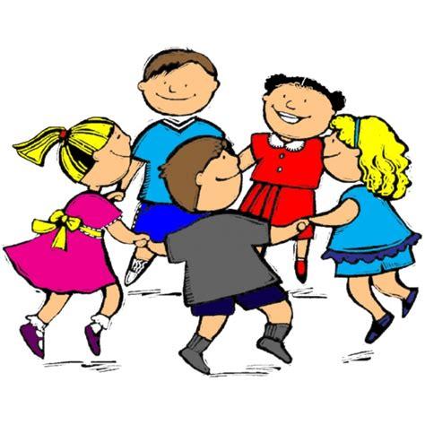 disegni bambini disegno di girotondo a colori per bambini