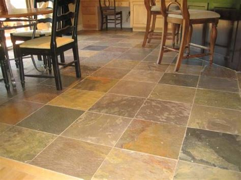 slate kitchen flooring ideas for the home